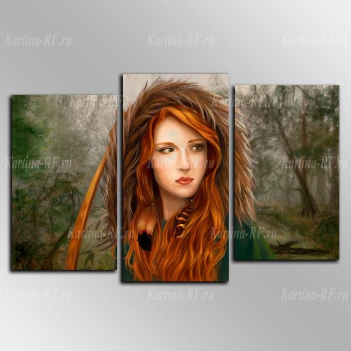Картины рыжих девушек — img 12